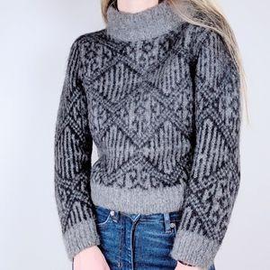 Daniele Fiesoli Mohair Alpaca Italian Sweater